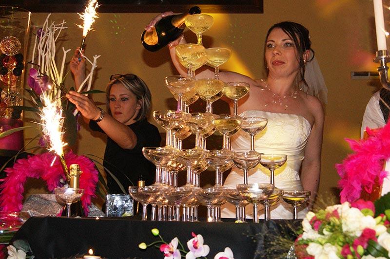 Fontaine de Champagne Mariage